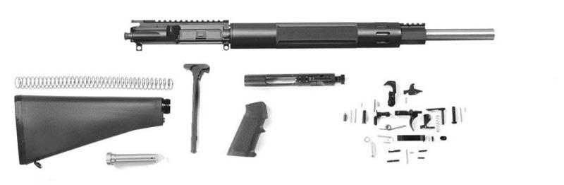 20 AR-15 Bull Barrel Rifle Kit